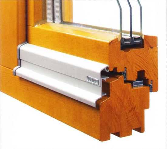 Profilierung Holz / Bautiefen 68, 80 & 90mm / flächenversetzt