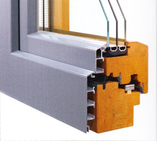Profilierung Holz & Aluminium / Bautiefen 84 & 96 mm / flächenversetzt
