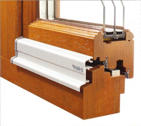 Profilierung Holz / Bautiefen 68, 80 & 90mm / rustikal profiliert