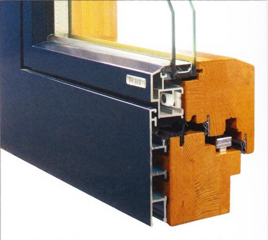 Profilierung Holz & Aluminium / Bautiefen 84 & 96 mm / flächenbündig